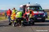Motorradfahrer bei Unfall auf der B34 schwer verletzt