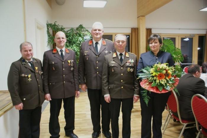 Hohe Auszeichnungen für Abschnittskommandant Eisenbock