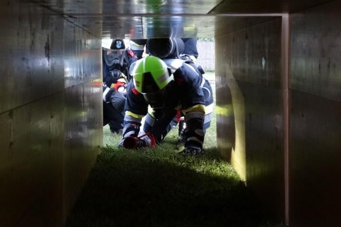 Atemschutzübung des Unterabschnittes Grafenegg am 31.05.2013