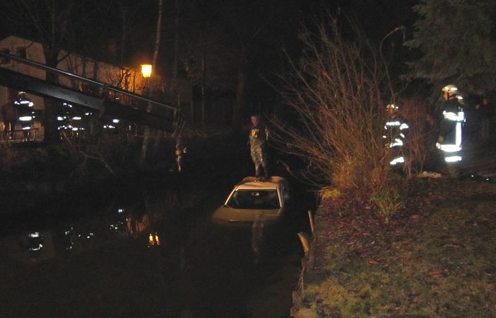 Verkehrsunfall in Hadersdorf am Silvestertag