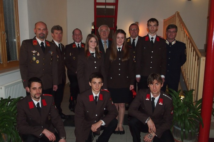Mitgliederversammlung 2014 der FF Lengenfeld
