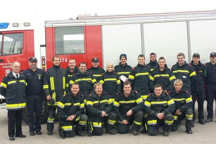 Ausbildungsprüfung Atemschutz FF Schiltern