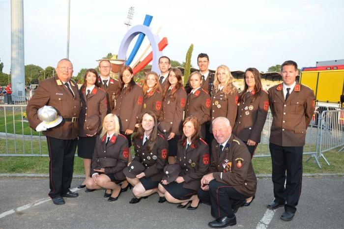 XV. Internationale Feuerwehrwettkämpfe Frankreich