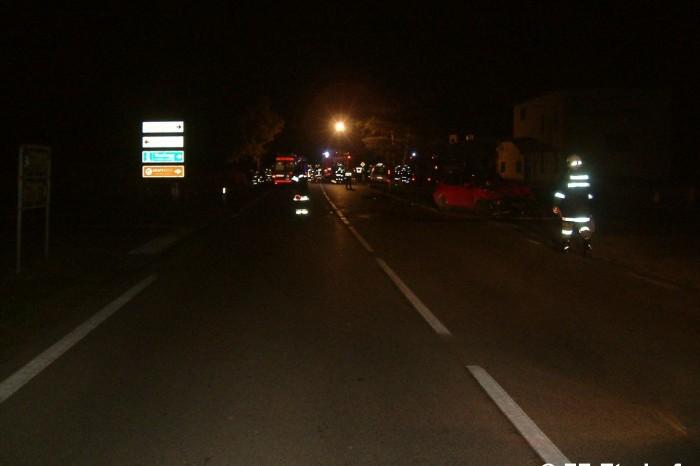 Verkehrsunfall B34 01.11.2013