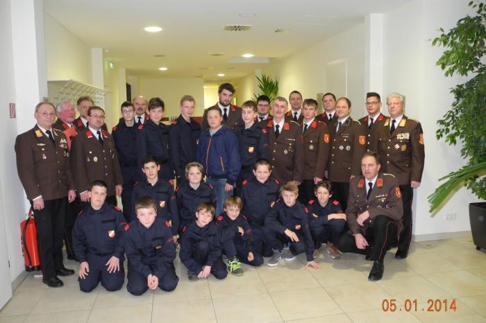 140. Mitgliederversammlung der FF Straß