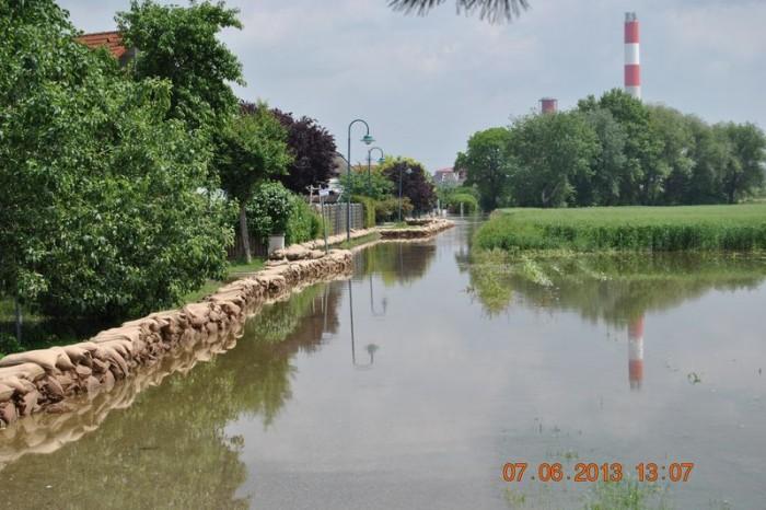"""Rückblick auf das Hochwasser im Juni: Bewährungsprobe """"neuerlich"""" bestanden!"""