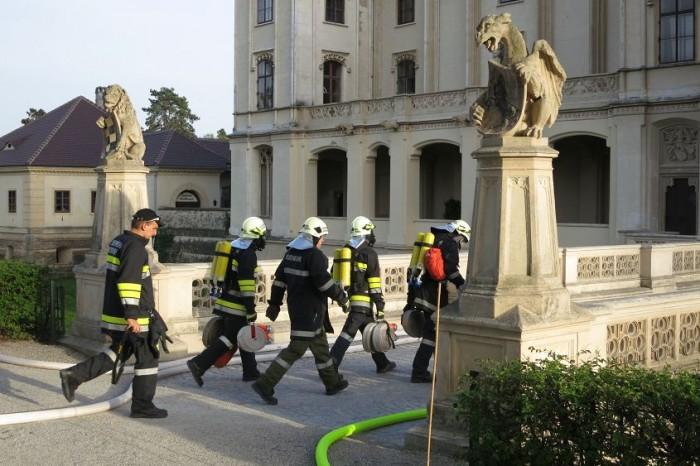 Gemeinschaftsübung Feuerwehr / Rotes Kreuz