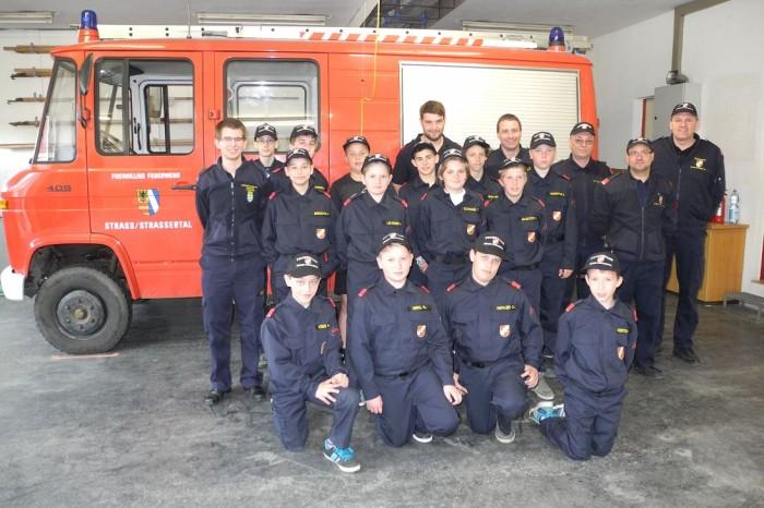 1. Erprobung der Feuerwehrjugend Straß
