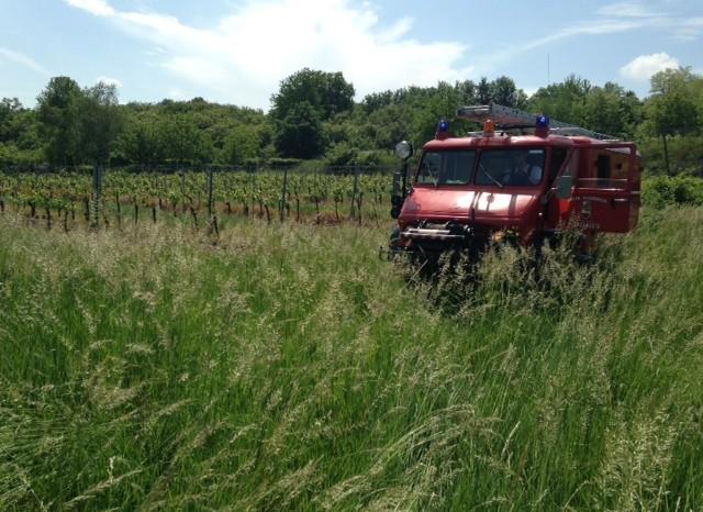 Traktorbergung am 24.05.2014 für die FF Langenlois