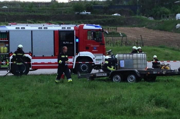 Abschnittsatemschutzübung am 23.05.2014 beim SIZ Langenlois