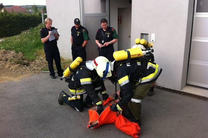 Ausbildungsprüfung Atemschutz FF Reith
