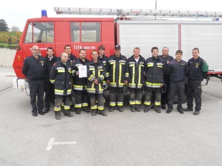 2 Gruppen der FF Langenlois absolvieren APAS Stufe Bronze