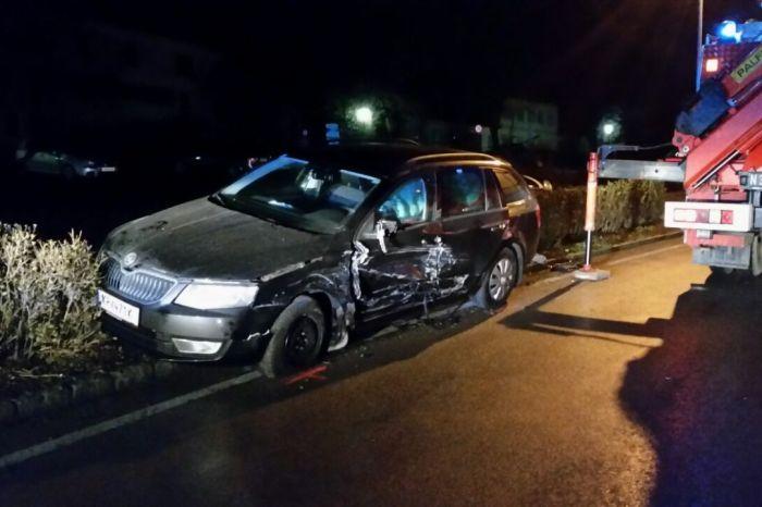 Techn. Einsatz für die FF Langenlois – Verkehrsunfall in der Kremser Straße