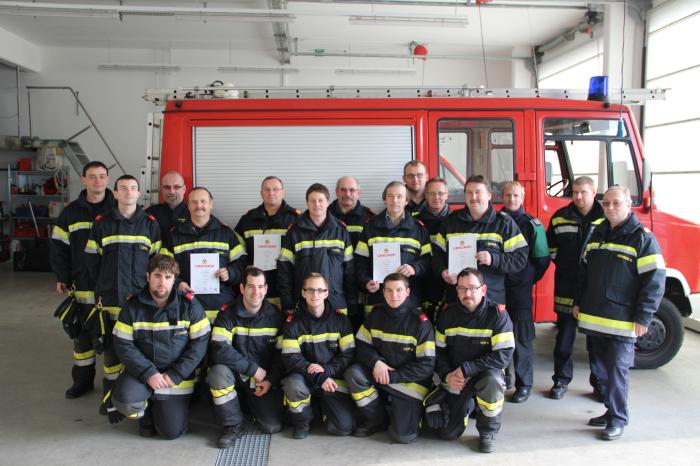 4 Gruppen der FF Gobelsburg – Zeiselberg absolvierten APAS Stufe Bronze