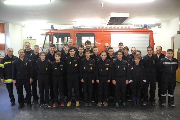 Feuerwehrjugend Straß – Fertigkeitsabzeichen Melder – Ziele 2015