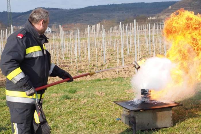 """""""Action Day"""" der Feuerwehren Langenlois, Gobelsburg – Zeiselberg u. Zöbing im SIZ Langenlois"""