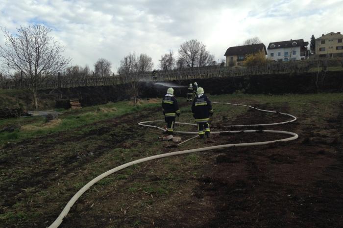 Brandeinsatz am Ostersonntag für die FF Langenlois