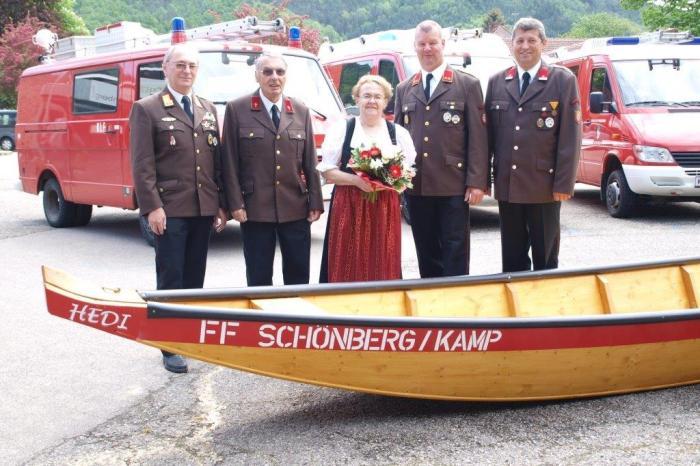 Zillensegnung in Schönberg/Kamp am 14. Mai 2015