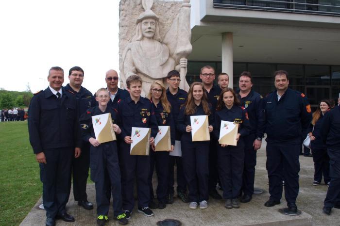 Feuerwehrjugend erwirbt Leistungsabzeichen in Gold!