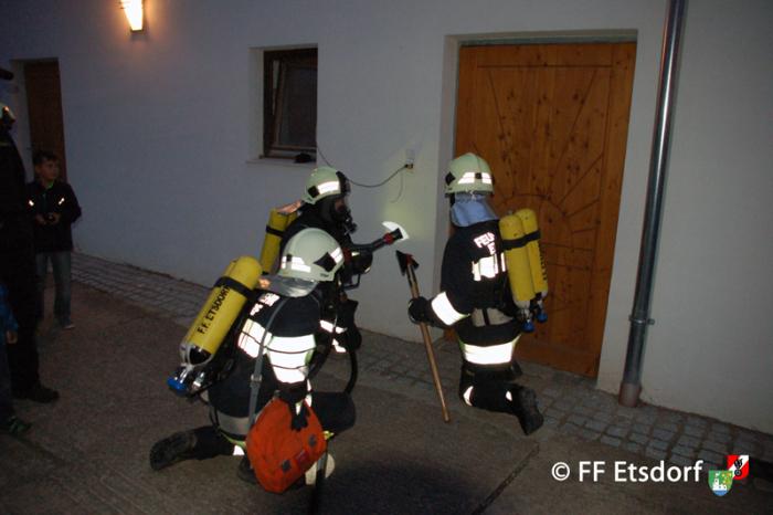 Unterabschnittsatemschutzübung in Grunddorf