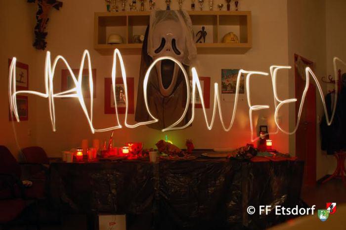 Halloweenfeier der Feuerwehrjugend Etsdorf und Engabrunn