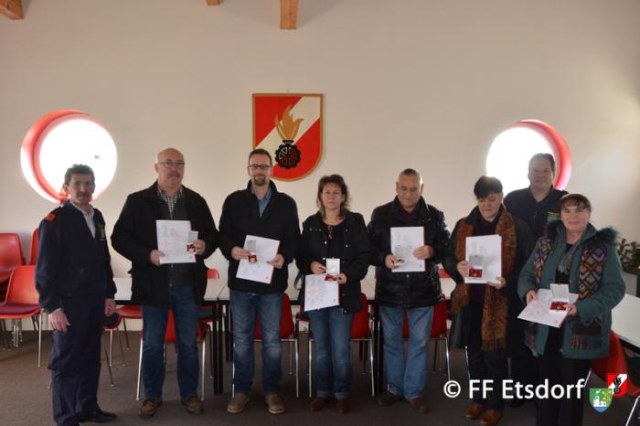 Blutspendenaktion bei der Feuerwehr Etsdorf