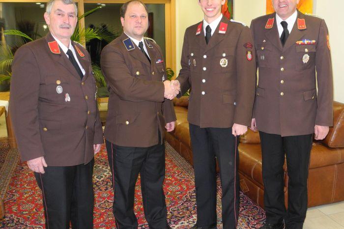 Mitgliederversammlung mit Neuwahlen der FF Straß