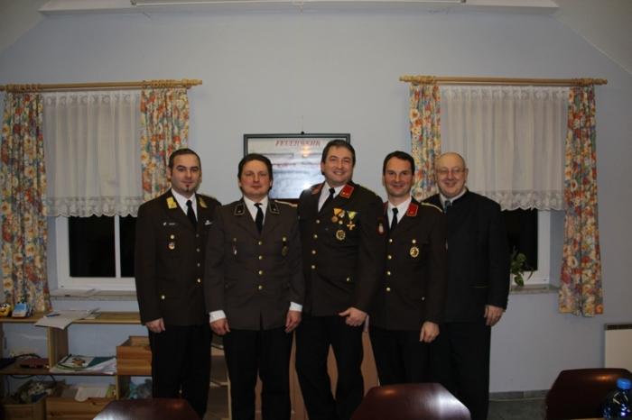 Mitgliederversammlung bei der Feuerwehr Grunddorf