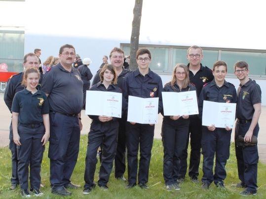 Gold für Feuerwehrjugend