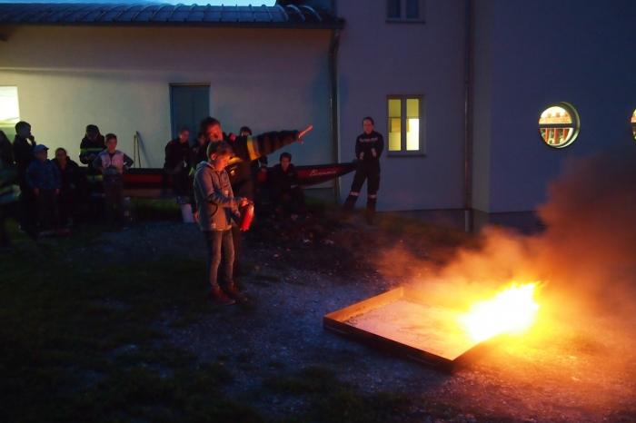 Infoveranstaltung der Feuerwehrjugend Lengenfeld