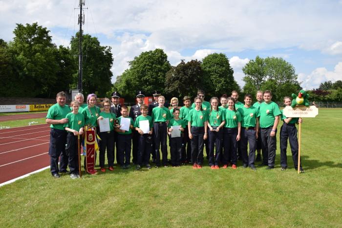 Feuerwehrjugend Langenlois auch International erfolgreich