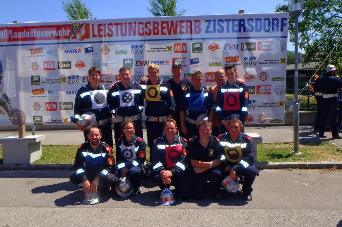 Feuerwehr Sittendorf bei den Landesfeuerwehrleistungsbewerben mit Top-Ergebnissen