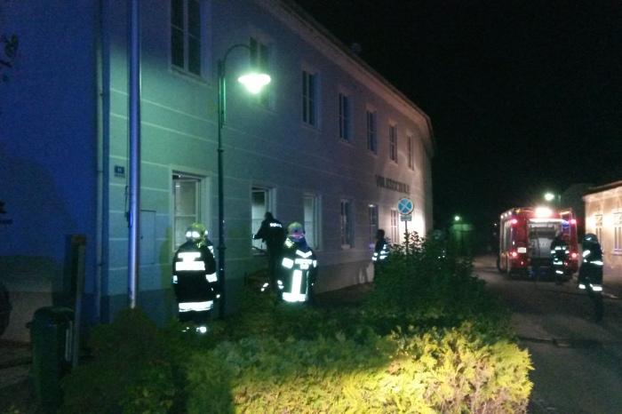 Großbrand im Volksschulgebäude Haitzendorf verhindert