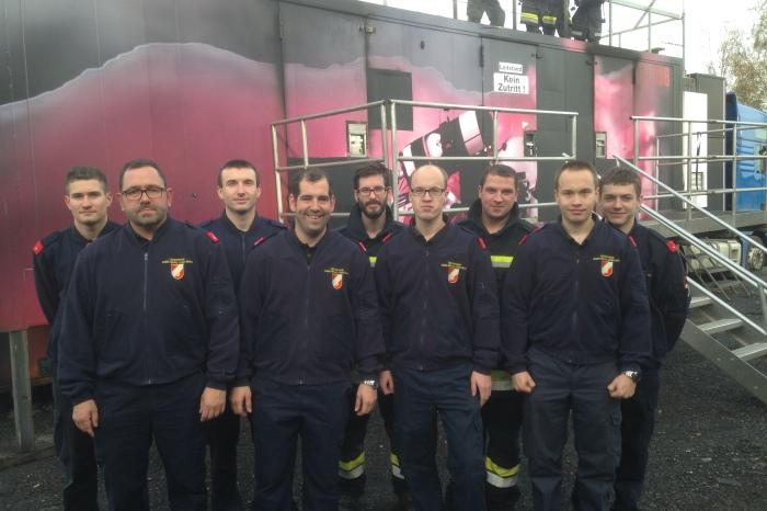 FF Gobelsburg / Zeiselberg absolviert Heißausbildung der Stufe 4
