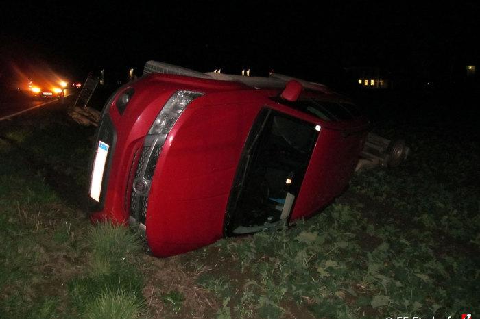Verkehrsunfall auf der L45