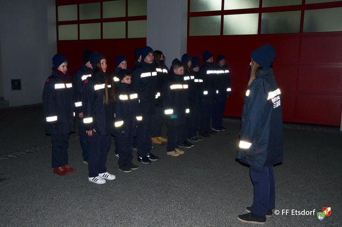 Erprobungsspiel und Erprobung der Feuerwehrjugend