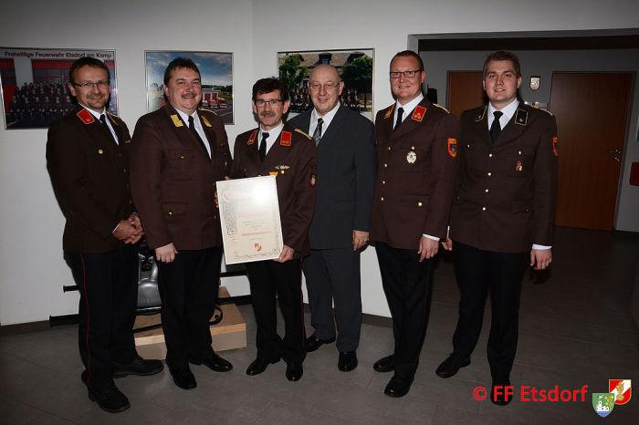 Mitgliederversammlung der Feuerwehr Etsdorf
