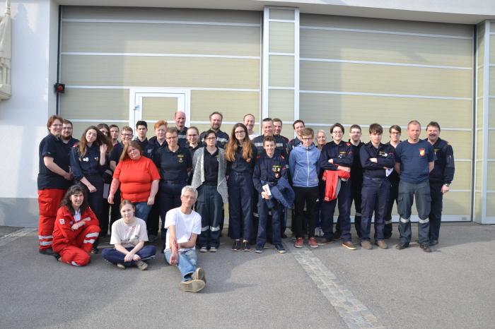 16 stündiger Erste Hilfe Kurs im Abschnitt Langenlois