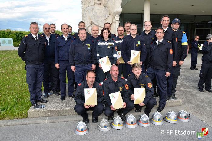 """Feuerwehrmatura"" FLA Gold"