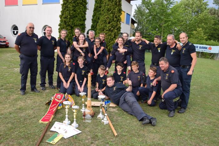 Feuerwehrjugend Langenlois eine Klasse für sich