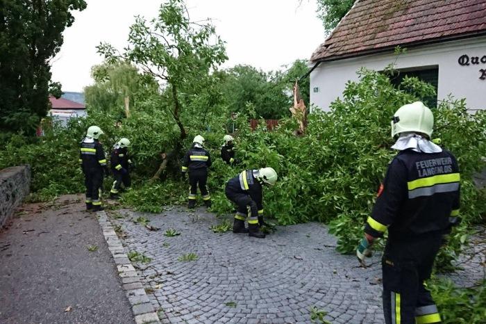 Einsatzreiche Nacht für die Feuerwehr Langenlois