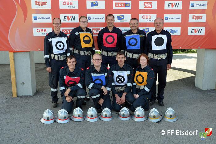 Feuerwehr Etsdorf beim Landesfeuerwehrleistungsbewerb 2017