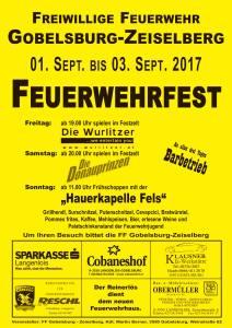 Plakat FF-Fest Gobelsburg 2017