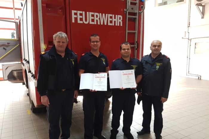 Drei neue Prüfer im Team APTE – zwei davon vom Abschnitt Langenlois
