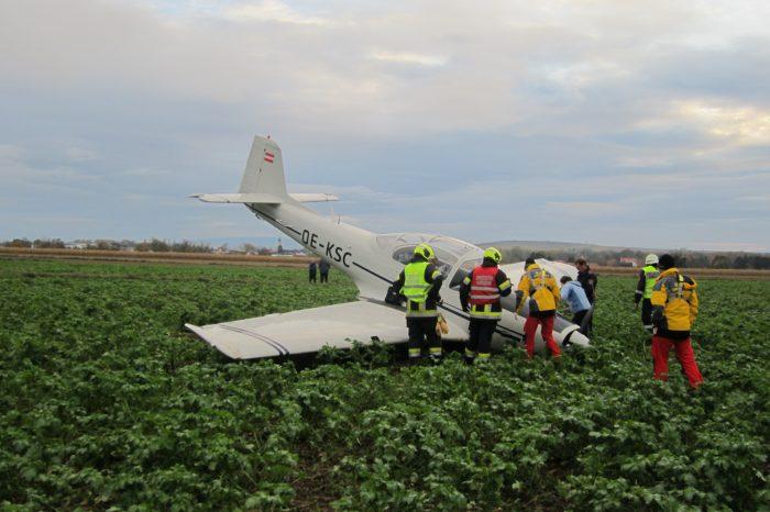 Flugzeugabsturz zwischen Hadersdorf und Straß