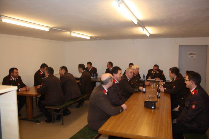 Mitgliederversammlung der FF Freischling
