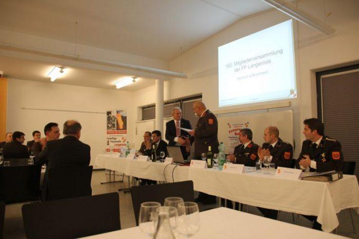 160. Mitgliederversammlung der FF Langenlois, 05. Jänner 2018