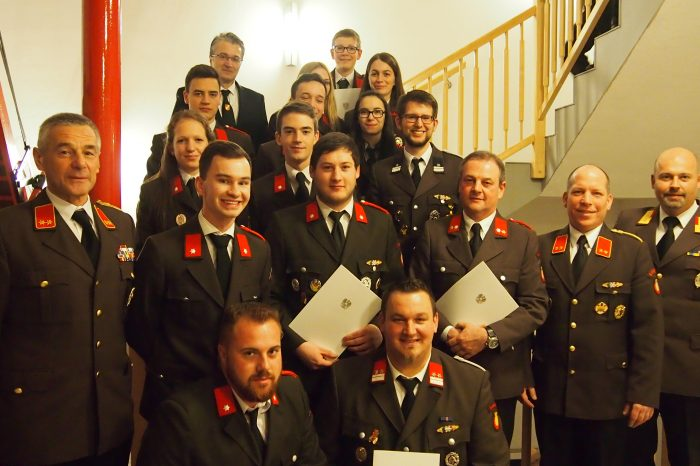 Mitgliederversammlung 2018 FF Lengenfeld
