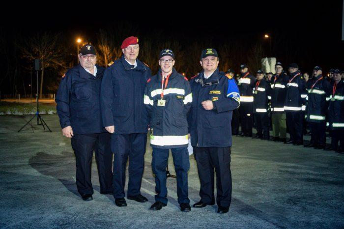 3. Platz beim NÖ Feuerwehrfunkleistungsabzeichen durch FM Stefan Fock von der FF Gobelsburg / Zeiselberg