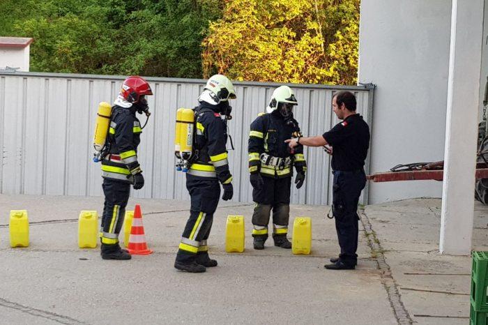Abschnittsatemschutzübung in Gobelsburg – Gurkentest statt Finnentest!